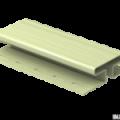H-планка Ю-Пласт зеленый 3,05м (5шт в уп