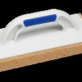 0387KUBALA Пластмас.тёрка с губкой 140х280мм,ручка G-17 (12шт/уп)