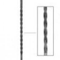 10121 (стойка с круч. 720мм, кв. 12гл.) L-900 мм