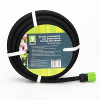 INBLOOM Шланг сочащийся для капельного полива растений 10м х 12мм (16мм)