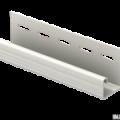 J-планка Ю-Пласт белая 3,05м (20шт в упак)