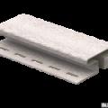 H-планка Ю-Пласт ясень беленый 3,05м (5шт в уп