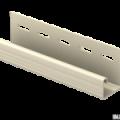 J-планка Ю-Пласт ванильный 3,05м (20шт в упак)