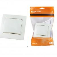 Выкл Таймыр TDM 1СП белый 10А SQ1814-0001 250В