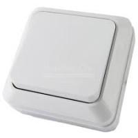 Выкл Ладога TDM 1-кл. ОП IP20 10А, белый