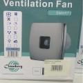 Вентилятор Cleanberg 100 SMART I (inox)