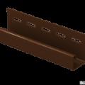 J-планка Ю-Пласт кирпич коричневый 3,05м (20шт в упак)