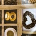 Клеенка стол ТКАНЬ 1,3*25м Кофе 304-10