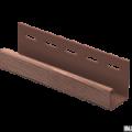 J-планка Ю-Пласт дуб мореный 3,05м (20шт в упак)