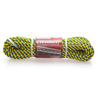 Шнур капрон. 16-и прядный цветн. 4,0мм (30м)