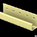 J-планка Ю-Пласт кремовый 3,05м (20шт в упак)