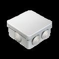 Коробка распаячная 40-0210 для о/п безгалогенная (HF) 80х80х40
