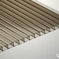 Сотовый поликарбонат 10мм бронза - серый 6м
