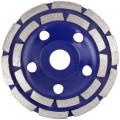 Диск алмаз.шлиф.двойной сегмент Cutor,125x5,0x8.0x22.2мм