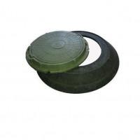 Конусный переход с крышкой (зеленый) полимер