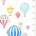 Ростомер Шары полноцветный 244x60см