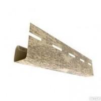 J-планка Ю-Пласт кирпич песочн 3,05м (20шт в упак)