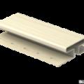 H-планка Ю-Пласт ванильный 3,05м (5шт в уп