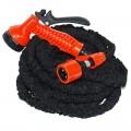 ЕРМАК Шланг поливочный растягивающийся 7-21м, + пистолет 7 режимов, латекс/нейлон (-10 до +50С)