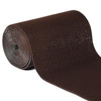 Коврик рулон Травка 0,9 х 15м коричневый/темный шоколад