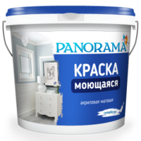 """Краска Белоснежная Моющаяся (22,0 кг) """"Panorama"""""""