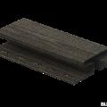 H-планка Ю-Пласт кирпич коричневый 3,05м (5шт в упак)
