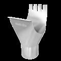 Приемная воронка OMV 125 87 (белая)