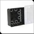Коробка распаячная 80-0860 для с/п безгалогенная (HF) 100х100х45