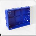 Коробка распаячная ГСК 80-0980 для с/п безгалогенная (HF) 265х180х70
