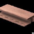 H-планка Ю-Пласт дуб мореный 3,05м (5шт в уп)