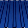 Профнастил МП-20х1100 (ПЭ-01-5002-0,45) 2м