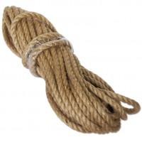 Веревка джутовая диам. 12мм. по 10м.