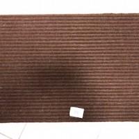 Коврик резин ковролин FLOOR MAT 40*60 Стандарт коричневый