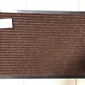 Коврик резин ковролин 60*90см Классик коричневый