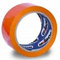Клейкая лента упаковочная 48 мм х 66 м UNIBOB 600 оранжевая