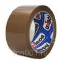 Клейкая лента упаковочная 48 мм х 132 м корич.