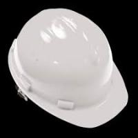 Каска строительная, белая 12200