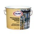 Краска с молотковым эффектом аллюминий (0,75л) ОЛИМП