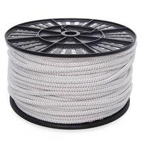 Шнур ПА плотн. плет. 5,0мм белый (300м)