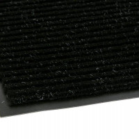Коврик резин ковролин 40*60см ЧЕРРИ/FLOOR МАТ Комфорт черный