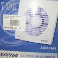 Вентилятор Vector 100 CK (клапан) 100м3