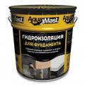 Мастика битумная AquaMast (18кг) фундамент