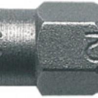 Биты односторонние, сталь S2,  PZ2*25 57452
