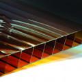 Сотовый поликарбонат 10мм бронза 6м Ultramarin