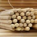Держак д/граблей D=25мм, L=130см деревянный (береза, 1-й сорт)