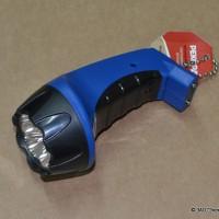 Фонарь аккумуляторный светодиодный «РЕКОРД» РМ-0104 Blue (1/12/72шт)/21701/333189