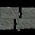 "Сайдинг Ю-Пласт ""Стоун-Хаус"" Камень изумрудный 0,225/3,025 ( 0,68м2 / 15шт в уп )"