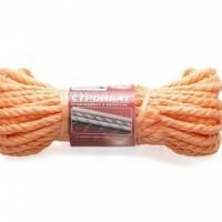 Канат полипр. крученый 8,0мм оранж (15м)