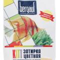 Затирка для швов BERGAUF карамель 2 кг