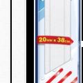 Лента противоскольжения 20мм х 38см для ванн и душ